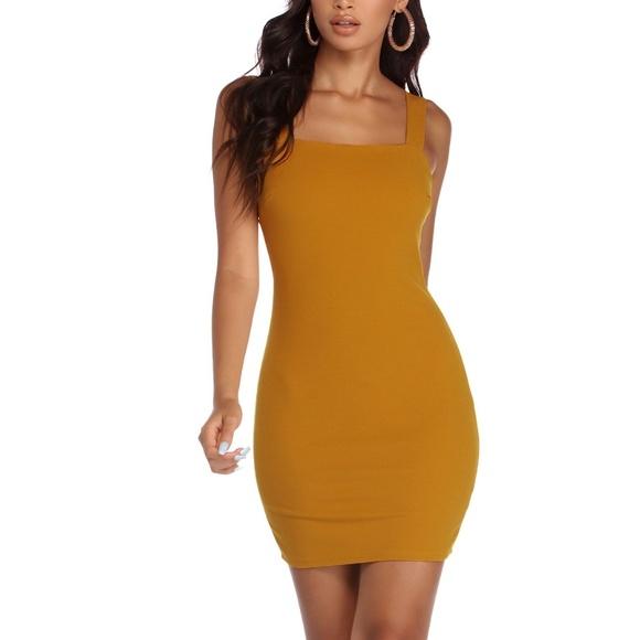 3aae05a40579ee windsor yellow mustard dress
